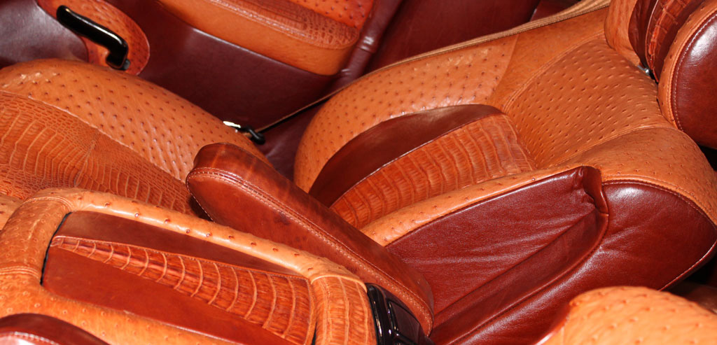 Automotive Roje Exotic Leather