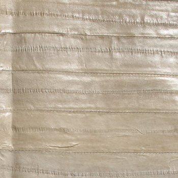 Eel Leather - Ivory