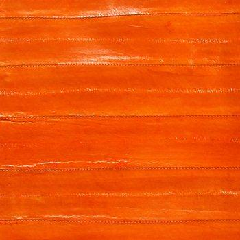 Eel Leather - Orange