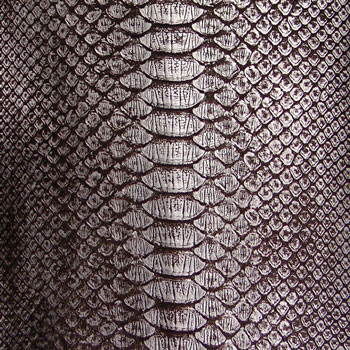 Python Leather - Metallic Antiqued