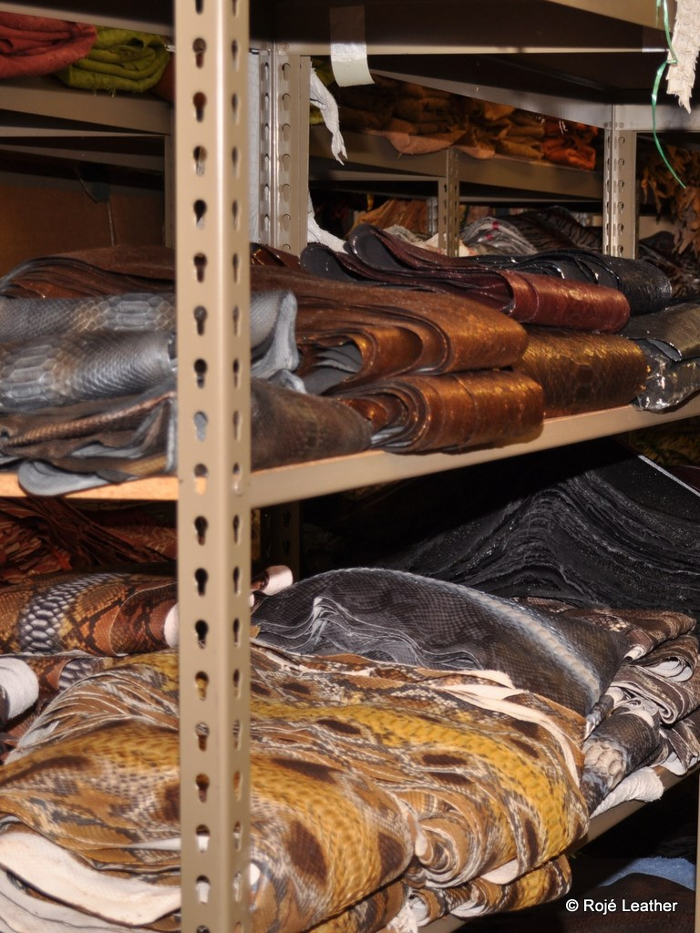 Common python colors, finishes, and cuts are always stocked and ready for delivery.